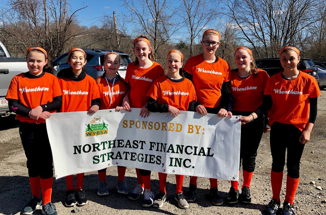 2018 WYBSA Softball Majors Team Bandits Sponsored by NFS – 2nd Place Finishers