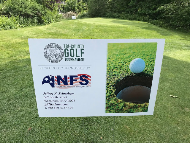 June 2018 – Tee-Off For Tri-County Golf Tournament
