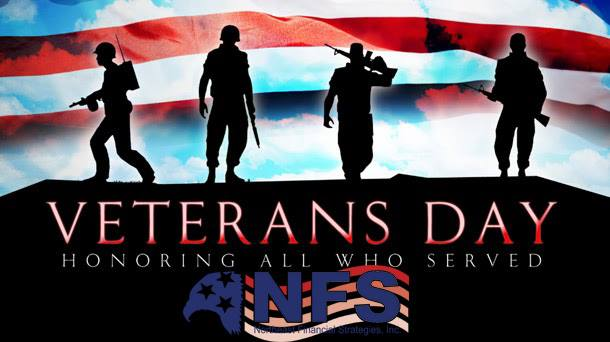 Happy Veteran's Day from NFS
