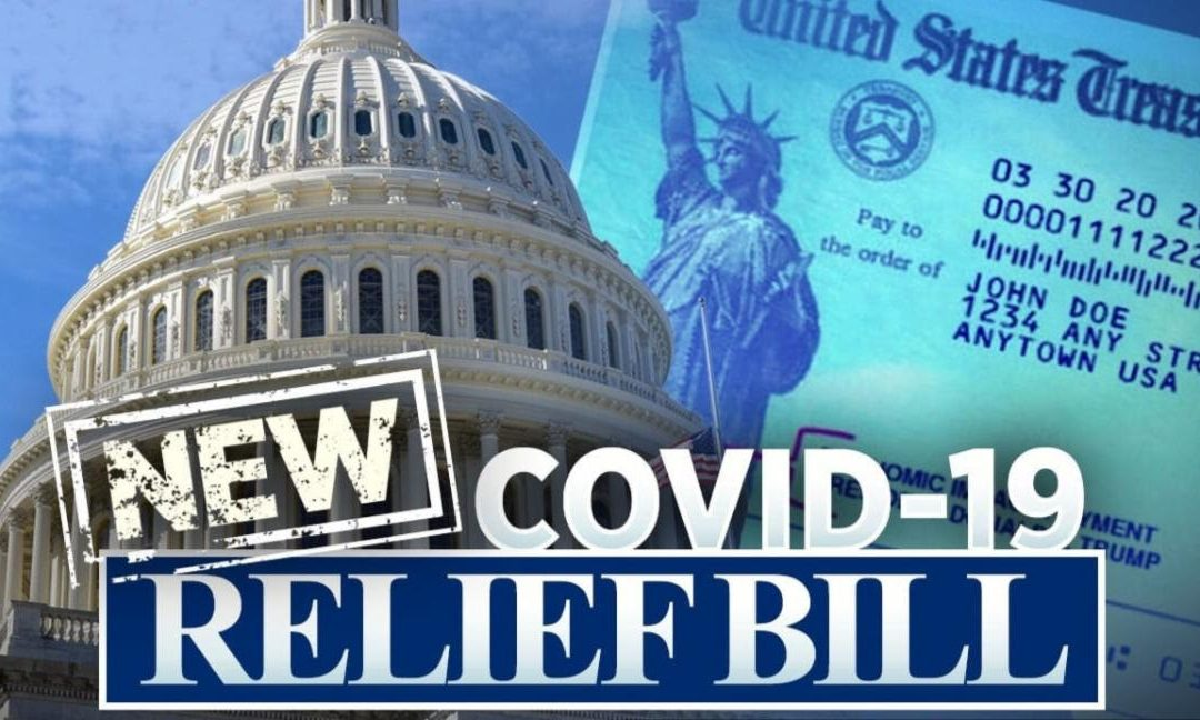 $900 Billion COVID-19 Relief Bill has PASSED