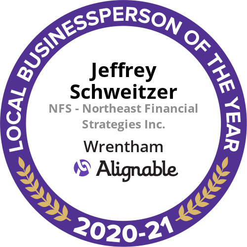Jeffrey Schweitzer Awarded 2021 Local Business Person Of The Year by Alignable