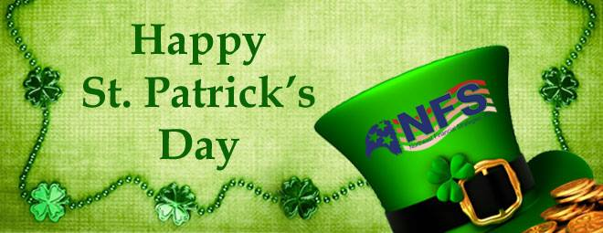 Happy St. Patrick's Day from #NFS
